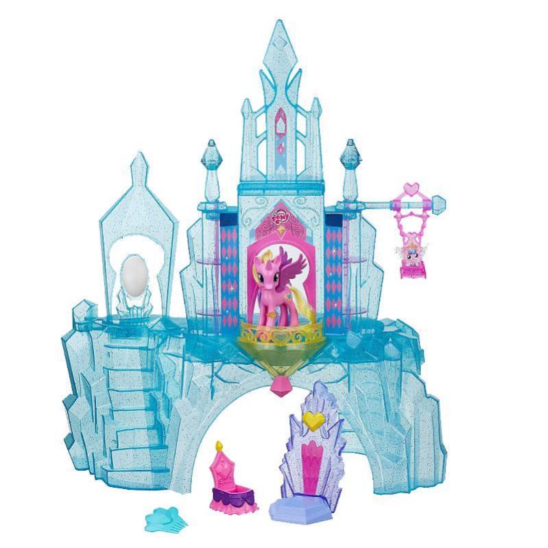 Ігровий набір фігурок Кристалічний замок My Little Pony (BR27792) - фото 1