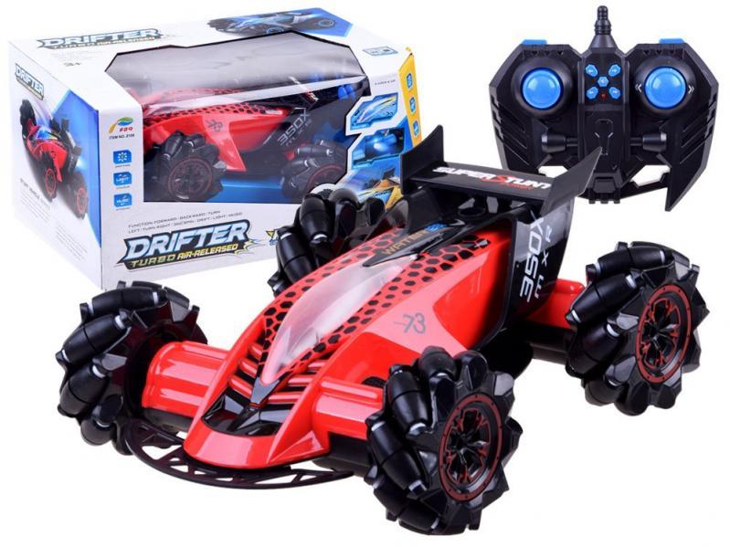Трюкова машинка Drifter Turbo Air Released на радіокеруванні з підсвічуванням Червоний - фото 2