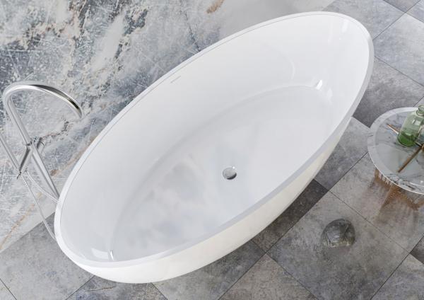 Ванна з штучного каменю Miraggio Madonna 180x80 см - фото 6