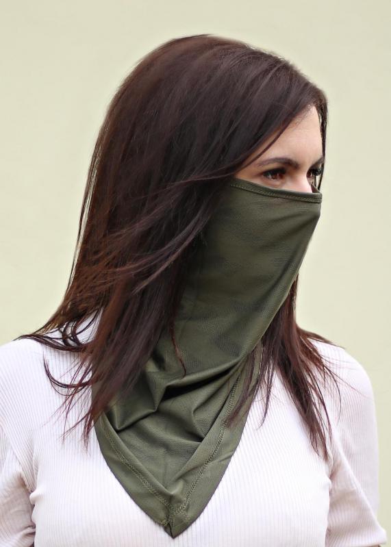 Бафф-маска Copper Зеленый хаки (buff-004-1) - фото 5