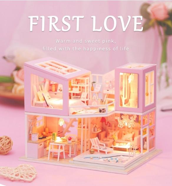 3D Румбокс CuteBee DIY DollHouse Перша любов (M915) - фото 2