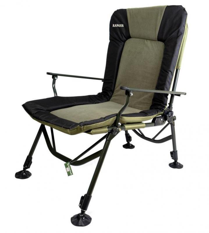 Кресло карповое раскладное для отдыха Ranger 70х97х104-115 см - фото 1
