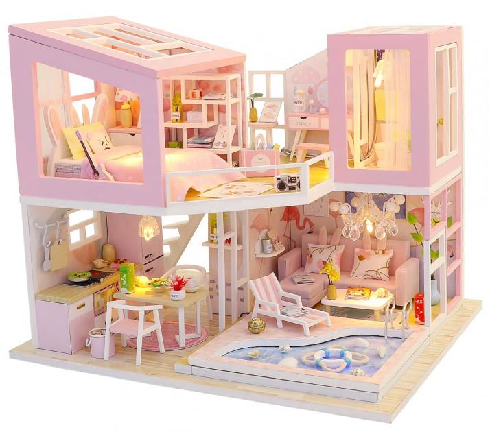 3D Румбокс CuteBee DIY DollHouse Перша любов (M915) - фото 1