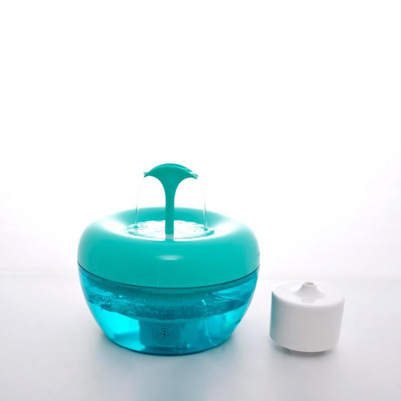 Автоматична поїлка-фонтан для кішок Pawoof X1 Зелений - фото 9