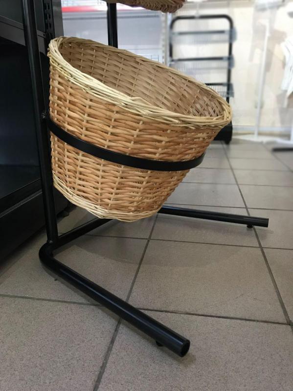 Стійка-стелаж з кошиками для продуктів - фото 4